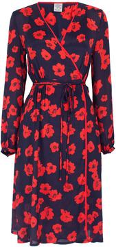Baum und Pferdgarten Augusta Floral Wrap Dress