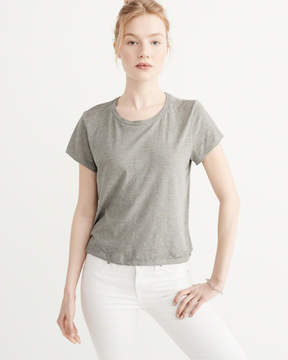 Abercrombie & Fitch Burnout Boxy Tee