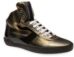 Bally Eroy Cat Eye High Top Sneakers