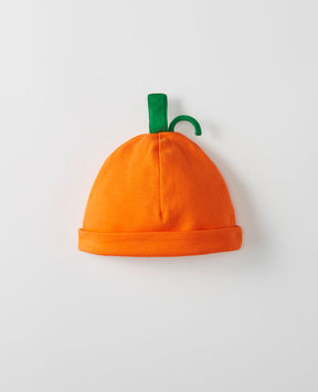 Hanna Andersson Pumpkin Cap In Organic Cotton