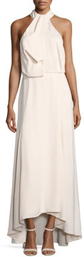 Camilla And Marc Senna Sleeveless Draped Evening Gown, Pink
