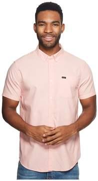 RVCA That'll Do Oxford Short Sleeve Woven Men's Short Sleeve Button Up