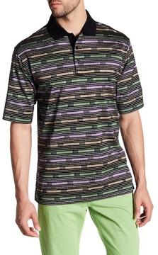 Bugatchi Short Sleeve Regular Fit Polo