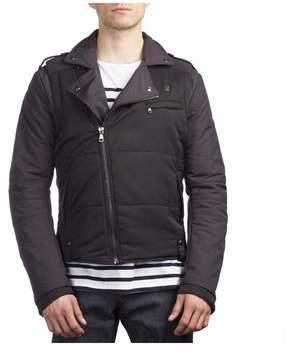 Pierre Balmain Men's Polyester Down Jacket Black.