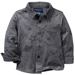 Andy & Evan Galaxy Knit Shirt (Baby Boys)