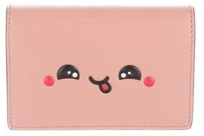 Anya Hindmarch Kawaii Yum Leather Card Holder w/ Tags