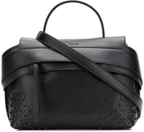 Tod's Gommini studded tote bag
