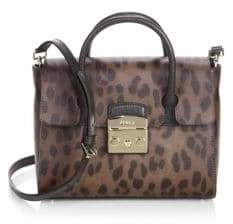 Furla Metropolis Leather Satchel
