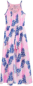 Epic Threads Big Girls Maxi-Overlay Romper, Created for Macy's