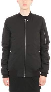 Drkshdw Black Cotton Flight Jacket