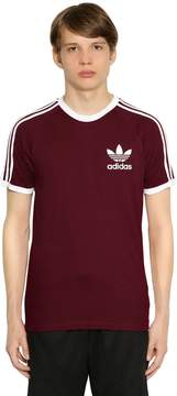 adidas Clfn Two Tone Cotton Jersey T-Shirt