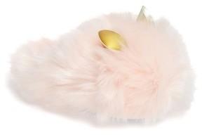 Steve Madden Girl's Bunie Fuzzy Slipper