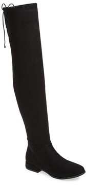 Chinese Laundry Women's Rashelle Over The Knee Stretch Boot
