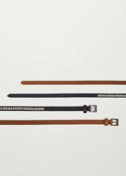 Mango Outlet Skinny belt pack