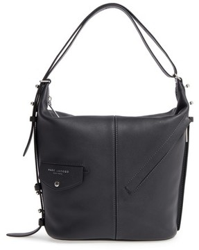 Marc Jacobs The Sling Convertible Leather Hobo - Black - BLACK - STYLE