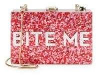 Milly Glitter Bite Me Convertible Clutch