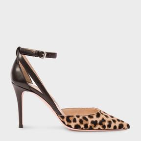 Paul Smith Women's Leopard Print Calf Hair 'Naomi' Shoes