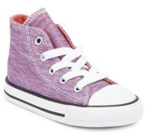 Converse Baby's & Toddler's Jersey Knit High-Top Sneakers