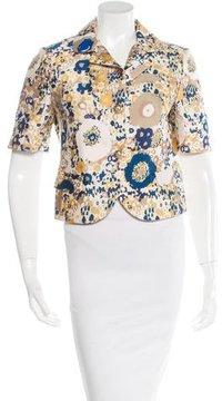 Aquilano Rimondi Aquilano.Rimondi Printed Cropped Jacket