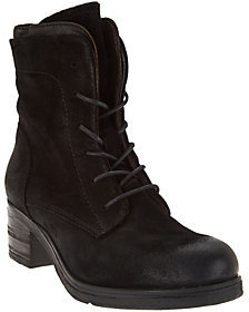 Miz Mooz As Is Leather Lace-up Boots - Sloanne