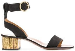Chloé block heeled sandals