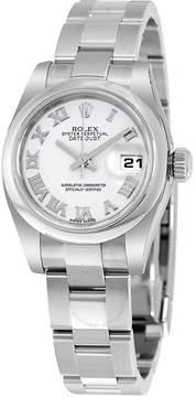 Rolex Lady Datejust 26 White Dial Stainless Steel Oyster Bracelet Automatic Watch 179160WRO