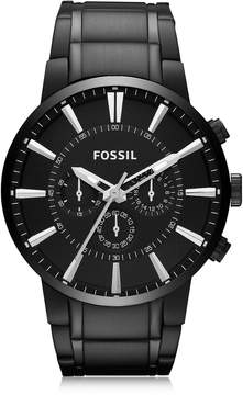 Fossil Others Black Stainless Steel Men's Chronograph Watch