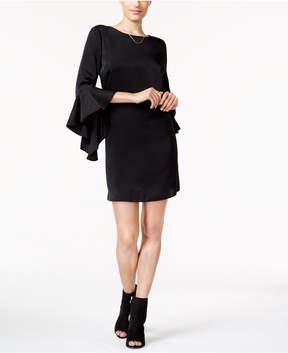 Bar III Ruffle-Sleeve Shift Dress, Created for Macy's