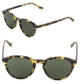 Zac Posen Kylian 49MM Round Sunglasses