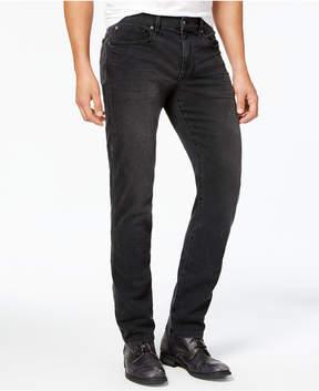 Joe's Jeans Men's Slim Straight Brixton Fit Overdyed Black Stretch Jeans