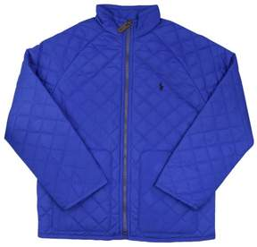 Polo Ralph Lauren Girls (7-16) Quilted Jacket-Pac Royal