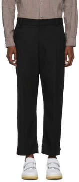 Robert Geller Black Linus Trousers