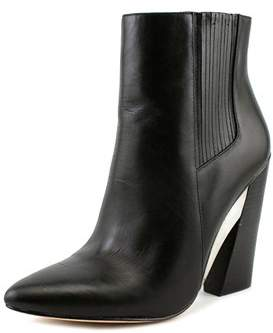 BCBGMAXAZRIA Metild Pointed Toe Synthetic Ankle Boot.