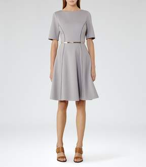 Reiss Tianna Fit And Flare Dress