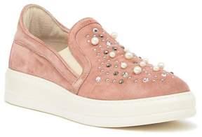 Manas Design Embellished Slip-On Sneaker