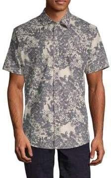 Publish Rey Printed Button-Down Shirt
