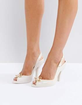 Melissa Lady Dragon Nude Orb Heeled Shoes