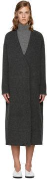 Enfold Grey Wool Gown Coat