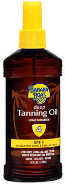 Banana Boat Deep Tanning Oil Spray Sunscreen, SPF 4