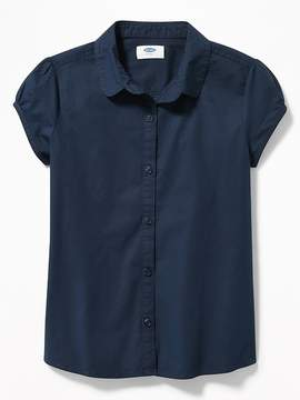 Old Navy Uniform Button-Front Shirt for Girls