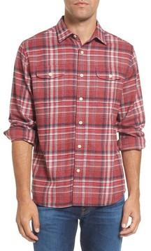 Grayers Men's Milbrook Modern Fit Lux Flannel Sport Shirt