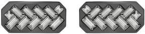 Swarovski Govern Cuff Links, Gray, Mixed plating
