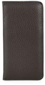 Saks Fifth Avenue COLLECTION Pebbled Leather iPhone Case