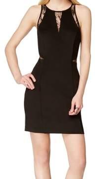 GUESS Women's Sleeveless IIlussion Dress