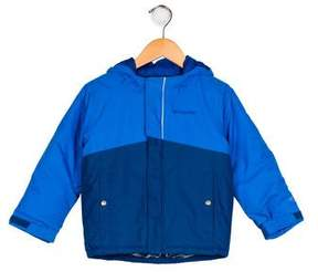 Columbia Boys' Hooded Zip-Up Jacket