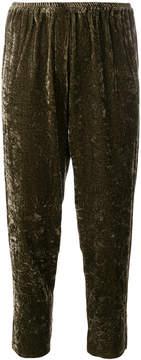 Forte Forte elastic waist cropped pants