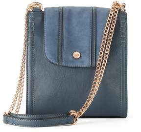 LC Lauren Conrad Parfum Flap Convertible Crossbody Bag