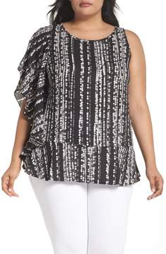 Sejour Ruffled One-Shoulder Top