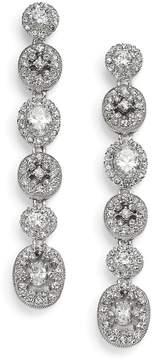 Adriana Orsini Women's Faceted Linear Drop Earrings