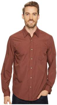 Exofficio Salida Plaid Long Sleeve Shirt Men's Long Sleeve Button Up